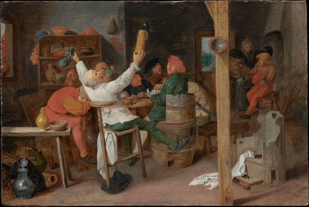 Peasants Carousing in a Tavern  Museum of Fine Arts Boston