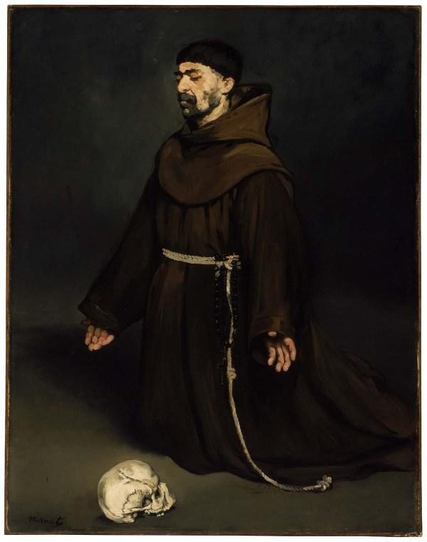 Monk In Prayer Museum Of Fine Arts Boston