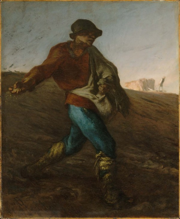 Jean-Francois Millet the Sower By