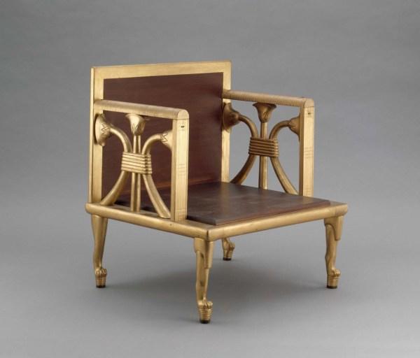Armchair Of Queen Hetepheres Reproduction Museum
