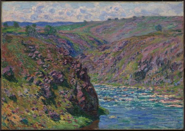 Valley Of Creuse Sunlight Effect Museum Fine