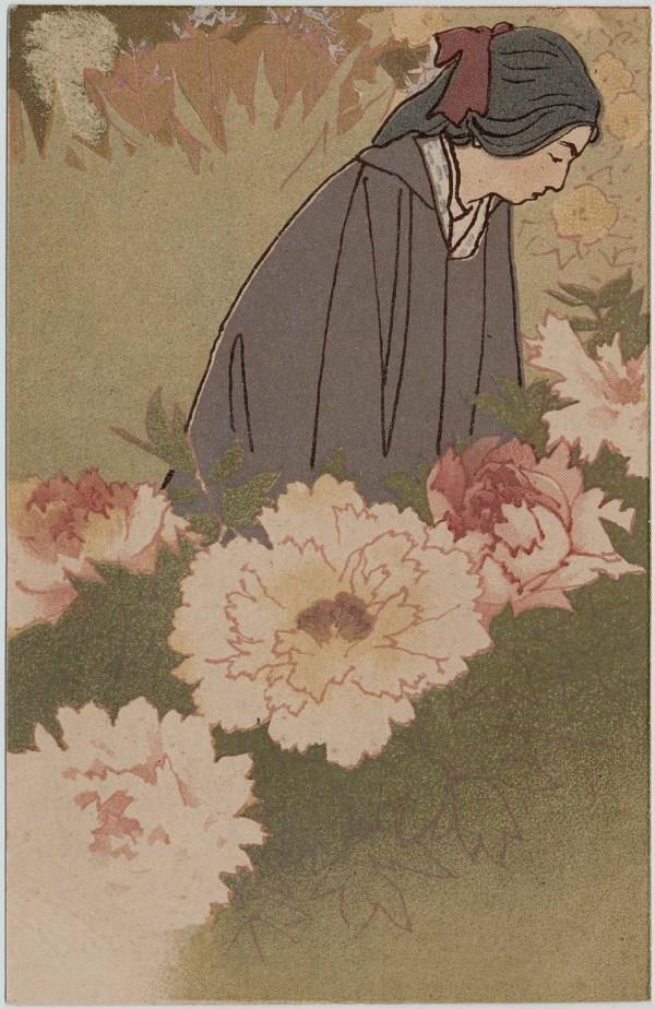 Women In Japanese Postcards Museum Of Fine Arts Boston