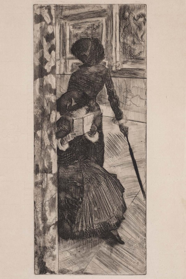 Mary Cassatt Edgar Degas Painting