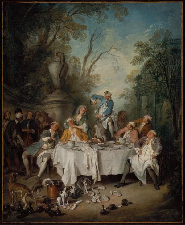 Nicolas Lancret Luncheon Party in a Park