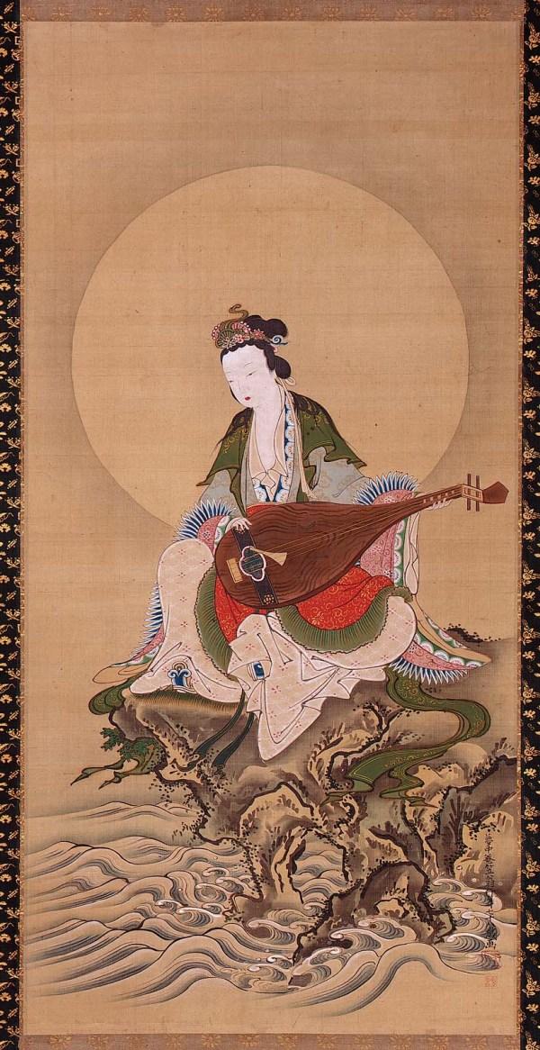 Benzaiten Goddess Of Music And Good Fortune Museum