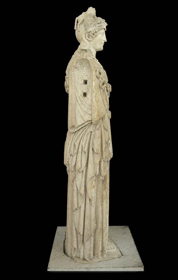 Statue Of Athena Parthenos Virgin Goddess Museum
