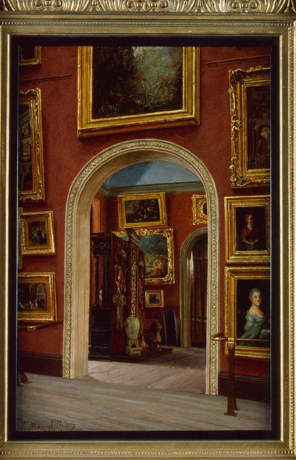 View Of In Museum Fine Arts Copley