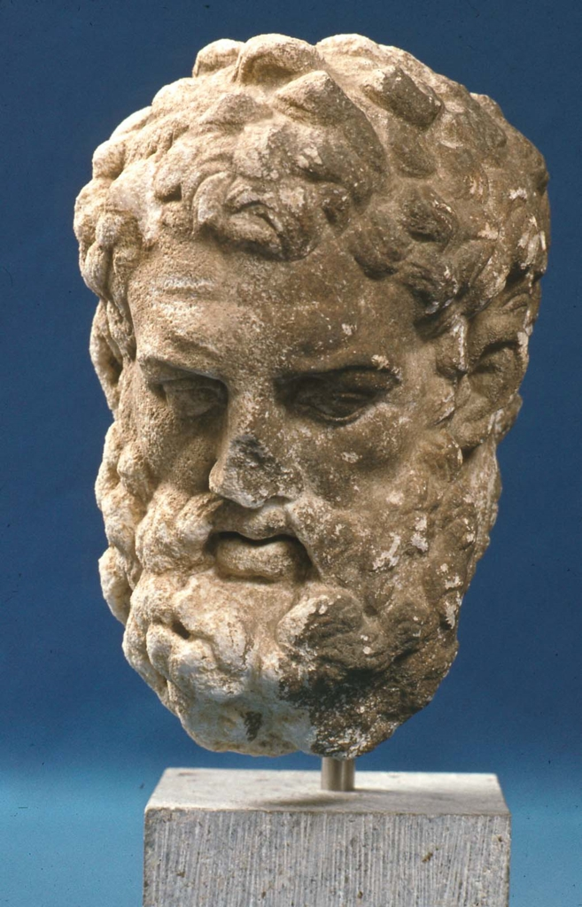Head Of Herakles After Lysippos Museum Of Fine Arts Boston