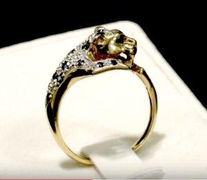 Panther Ring gebraucht kaufen 2 St bis 75 gnstiger