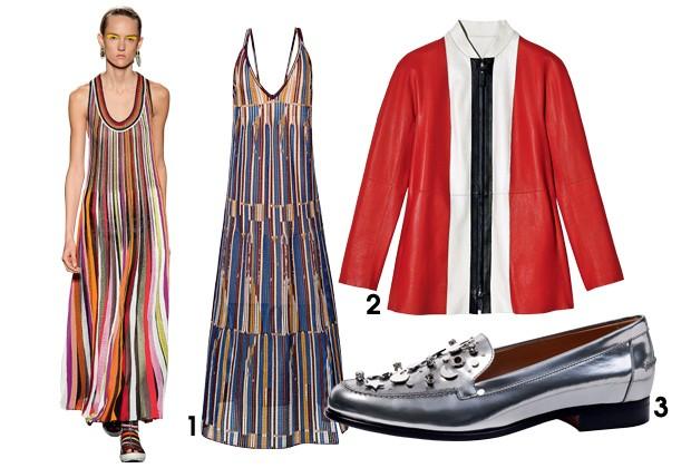 Dos vestidos aos casacos, as peças listradas estão em alta (Foto: Imaxtree/Divulgação)