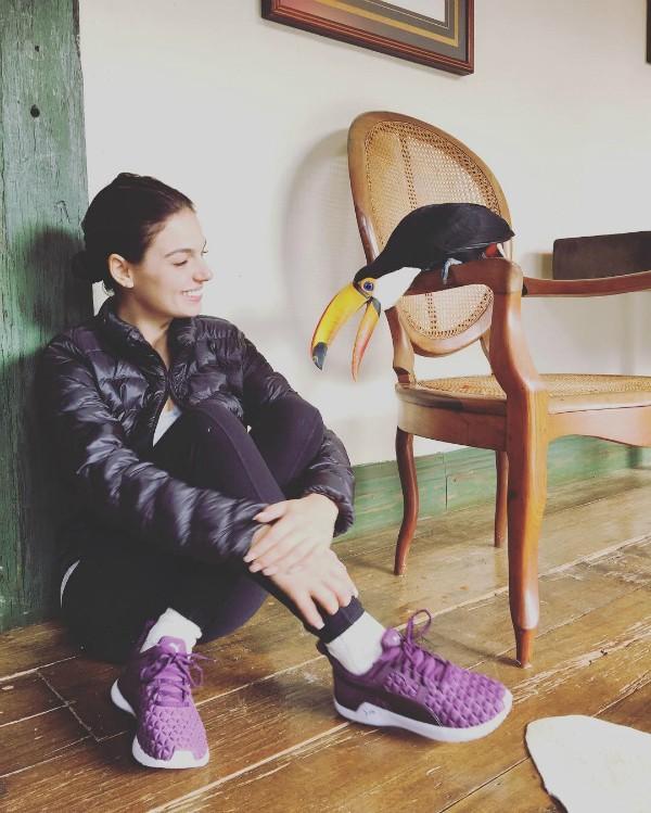 Ísis estava em viagem à Minas Gerais quando fez a publicação (Foto: Reprodução/Instagram)