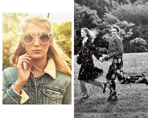 Os acessórios também ganham motivos florais (Foto: Gustavo Zylbersztajn (SD MGMT) / Edição de moda: Larissa Lucchese)