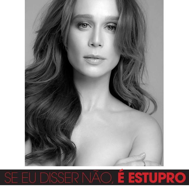 Mariana Ximenes adere à campanha contra estupro (Foto: Arquivo pessoal)