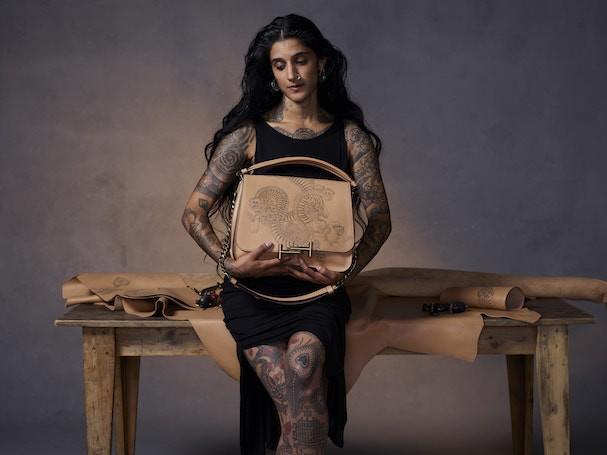 A tatuadora Saira Hunjen (Foto: Divulgação)