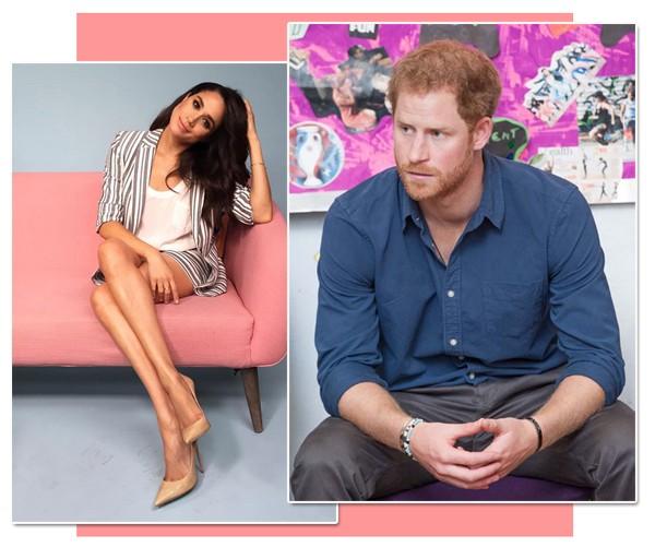 A atriz Meghan Markle e o Príncipe Harry (Foto: Reprodução / Instagram / Getty Images)