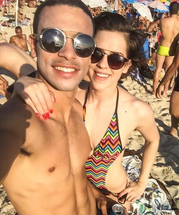 Sergio Malheiros e Sophia Abrahão (Foto: Instagram)