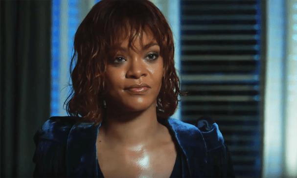 """Rihanna como Marion Crane em """"Bates Motel"""" (Foto: Reprodução)"""