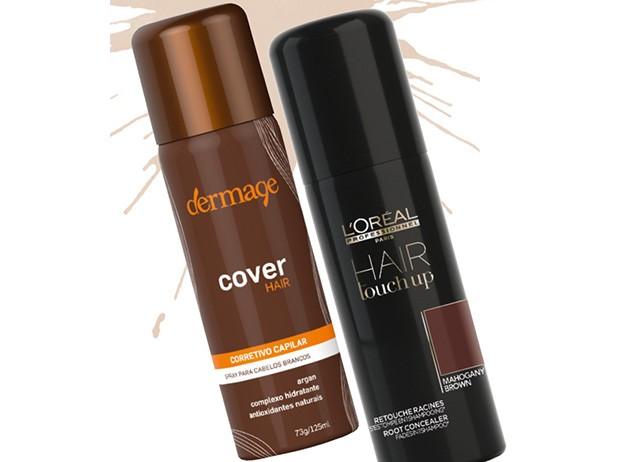 1. Cover Hair, Dermage, R$ 50 2. Hair Touch Up, L'Oréal Professionnel, R$ 120 (Foto: Reprodução )