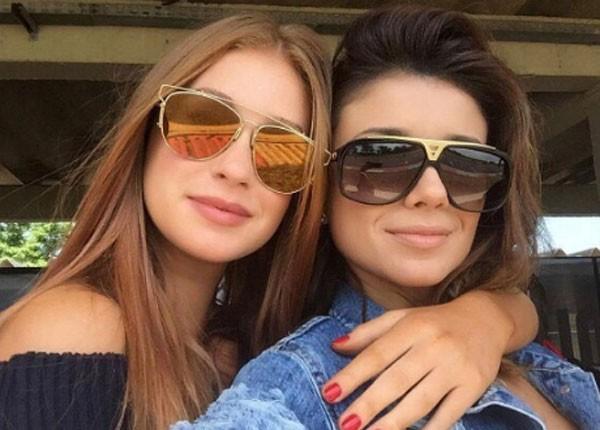 Paula Fernades e Marina Ruy Barbosa (Foto: Reprodução/Instagram)