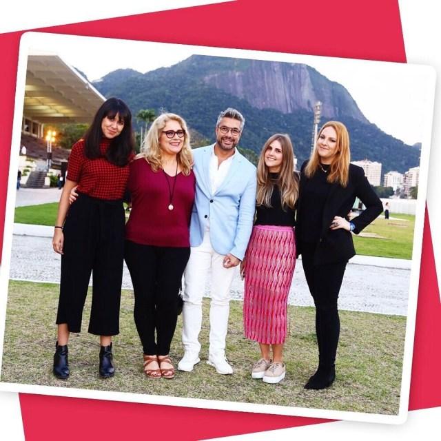 Lays Tavares, Blanca Lliahnne, Fernando Torquatto, Luiza Loyola e Renata Kalil (Foto: Instagram/Reprodução)