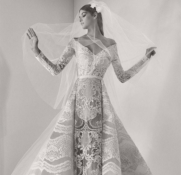 A lingerie é tão importante quanto o vestido de noiva (Foto: Divulgação/Elie Saab)