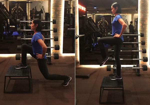 O exercício step up (Foto: Divulgação)