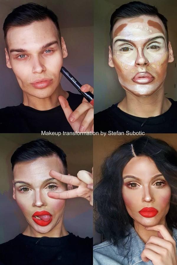 Olha a transformação da Kylie aí (Foto: Reprodução Instagram)