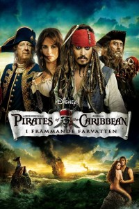 """Poster for the movie """"Pirates of the Caribbean: I främmande farvatten"""""""