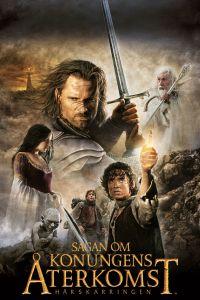 """Poster for the movie """"Sagan om konungens återkomst"""""""