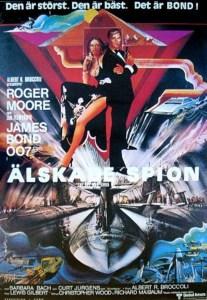 "Poster for the movie ""Älskade spion"""