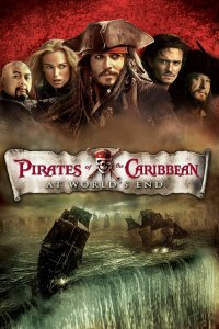 "Poster for the movie ""Pirates of the Caribbean: Vid världens ände"""