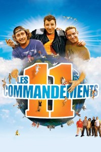"Poster for the movie ""Les 11 Commandements"""