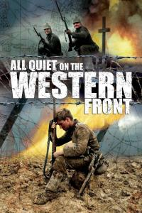"Poster for the movie ""All Quiet on the Western Front"""