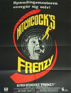 "Poster for the movie ""Frenzy"""