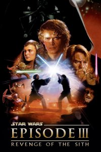 "Poster for the movie ""Star Wars: Episod III - Mörkrets hämnd"""