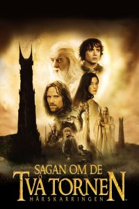 "Poster for the movie ""Sagan om de två tornen"""