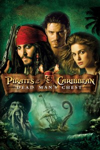 "Poster for the movie ""Pirates of the Caribbean: Död mans kista"""
