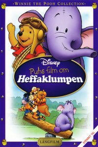 "Poster for the movie ""Puhs film om Heffaklumpen"""