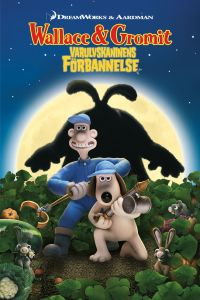 "Poster for the movie ""Wallace & Gromit: Varulvskaninens Förbannelse"""