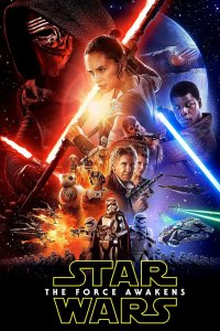 "Poster for the movie ""Star Wars: Episod VII - The Force Awakens"""