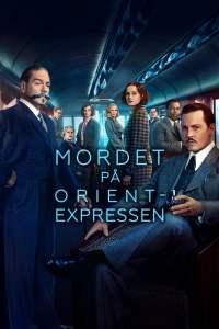 """Poster for the movie """"Mordet på Orientexpressen"""""""