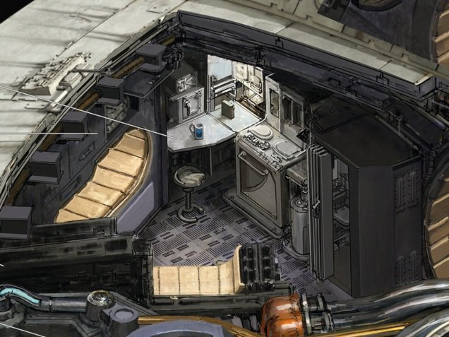 Kemp Remillard Millennium Falcon 3