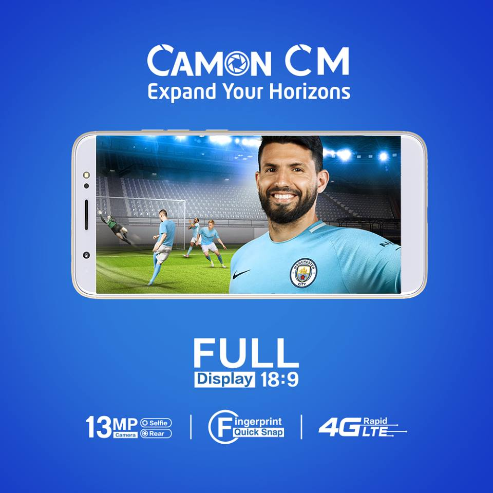 Tecno Camon CM (2018): Specs, Price, Features & All you need to know