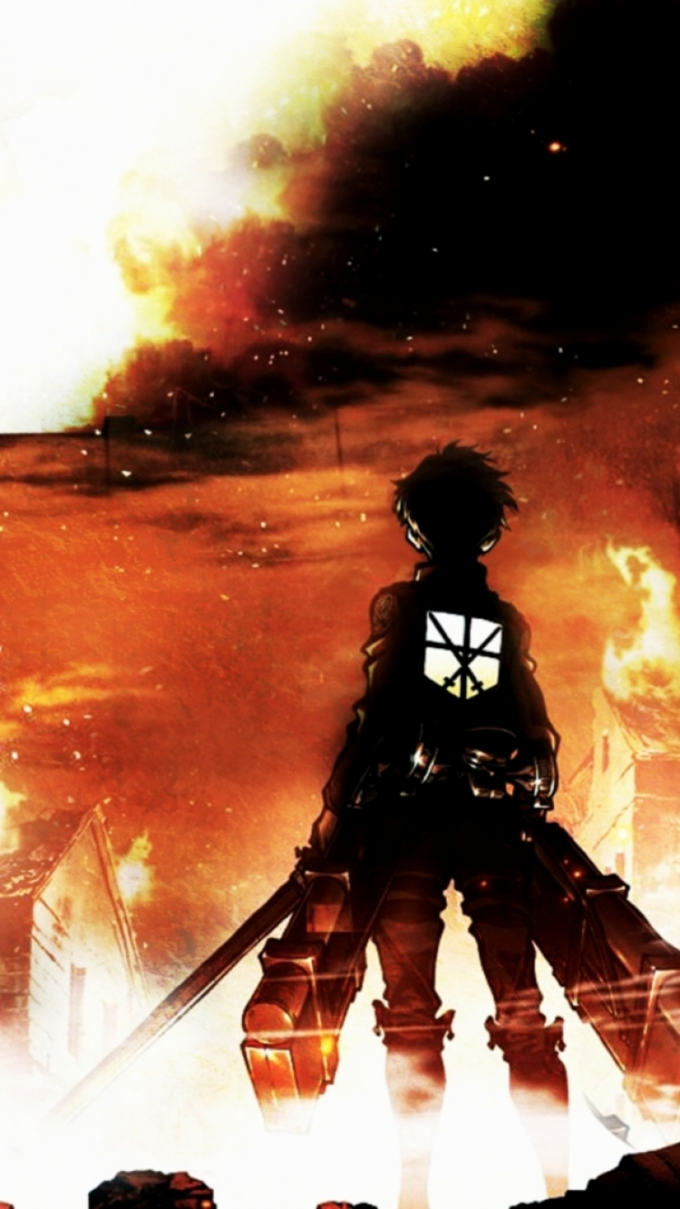 Sizing also makes later remov. Anime/Attack On Titan (750x1334) Wallpaper ID: 569546 ...