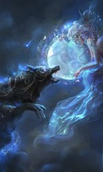 Fantasy/Wolf 480x800 Wallpaper ID: 634113 Mobile Abyss