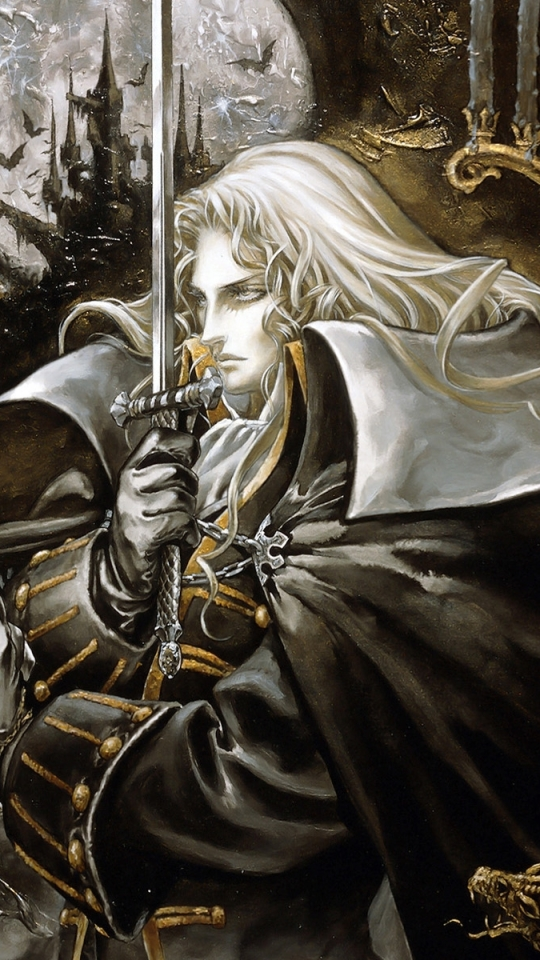 Castlevania: Symphony Of The Night : castlevania:, symphony, night, Video, Game/Castlevania:, Symphony, Night, (540x960), Wallpaper, 650723, Mobile, Abyss