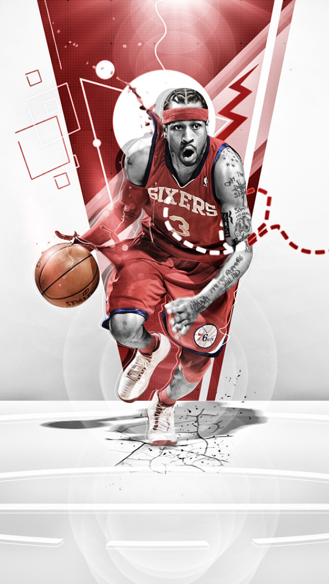 Zendha Allen Iverson Wallpaper Iphone