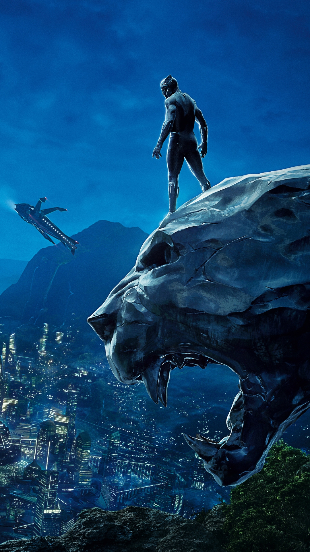 Live Iphone X Wallpaper From Commercial Movie Black Panther 1080x1920 Wallpaper Id 710577