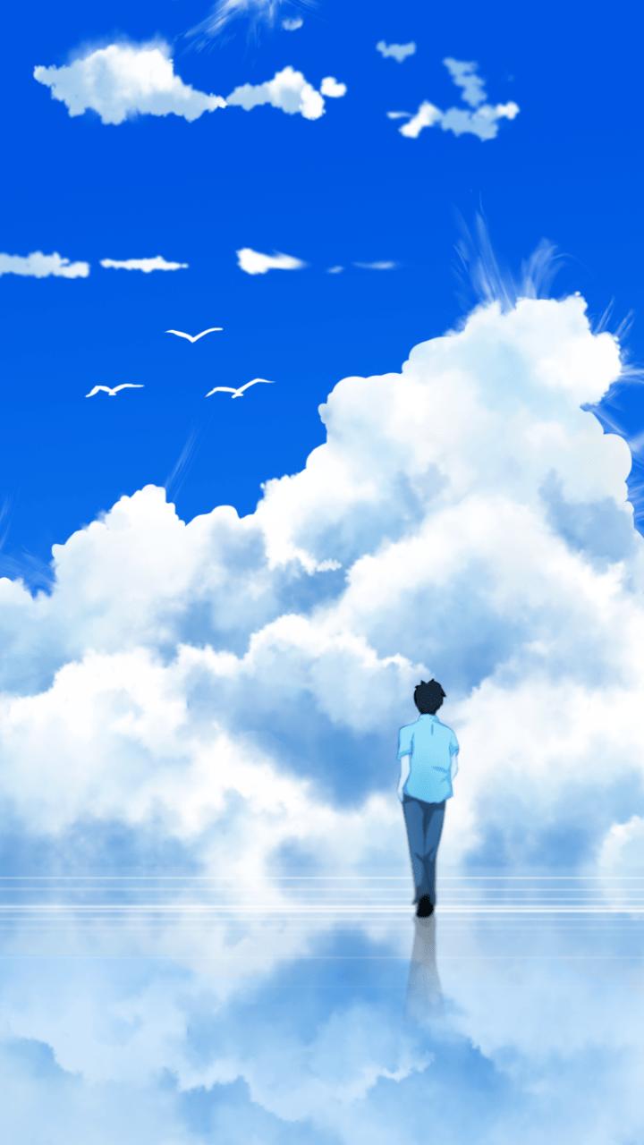 Peaceful Anime Background : peaceful, anime, background, Nature, Peaceful, Anime, Wallpaper