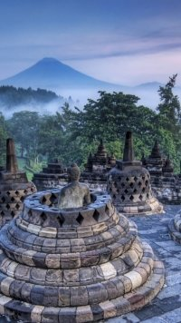 Borobudur Hd Wallpaper : borobudur, wallpaper, Borobudur, Mobile, Wallpapers, Abyss